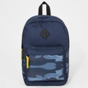 BOY'S CAMO POCKET BACKPACK